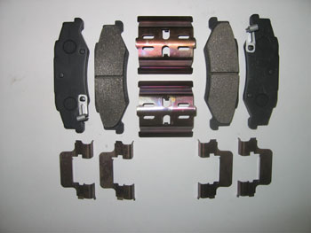 ACD BRAKE PAD KIT, C5/C6(Z51), REAR, CERAMIC