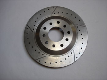 ROTOR, C5/C6, D&S, 5x5, ø325 x 32, FRONT RIGHT
