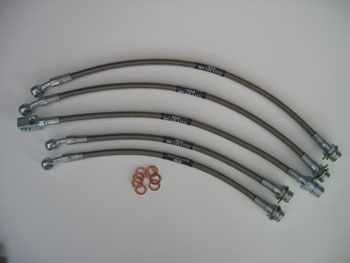 Custom 5-piece FlexKORE™ Brake Line Kit