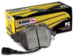 HAWK BRAKE PAD KIT, C5/C6(Z51), REAR, PC
